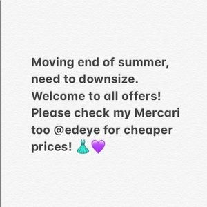 Need to sell everything by end of August!